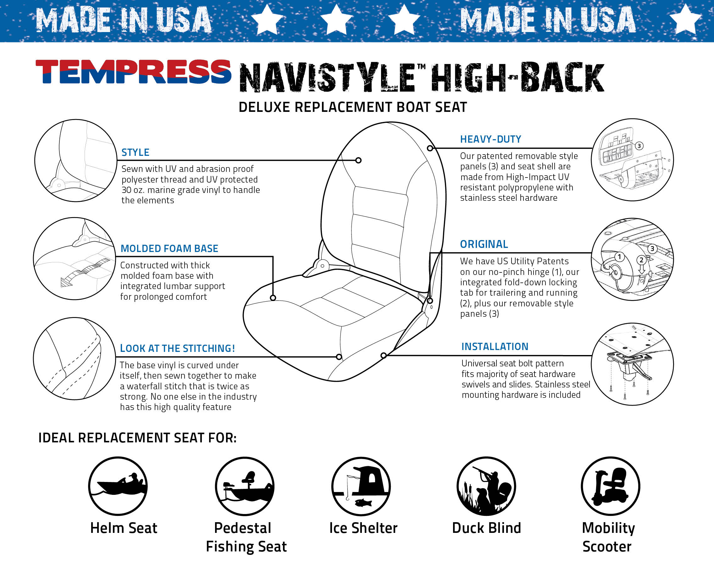 Navistyle™ Seats | TEMPRESS