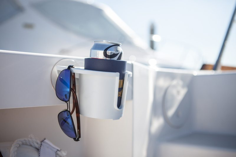 BoatMates Drink Holder White