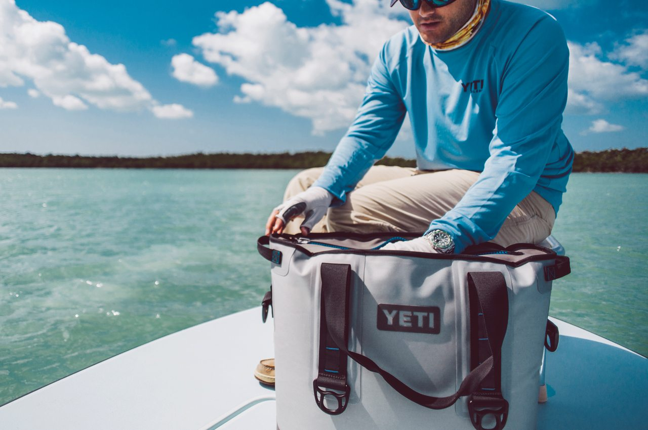 Yeti Hopper 30 Fishing