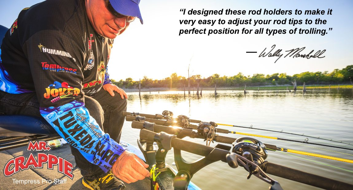 Mr. Crappie Pro Rod Series Quote